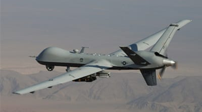 The US has promised not to conduct drone strikes while Pakistan tries to engage Taliban in peace talks [AFP]