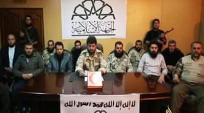Major Syrian rebel groups join forces