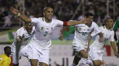 Burkina Faso said Madjid Bougherra  had received two bookings from previous games [Reuters]