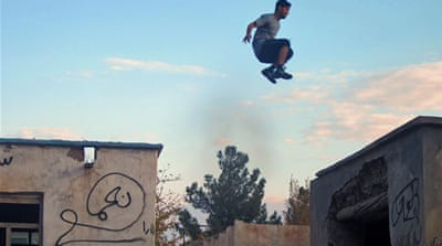 Giant leap for Parkour in Afghanistan
