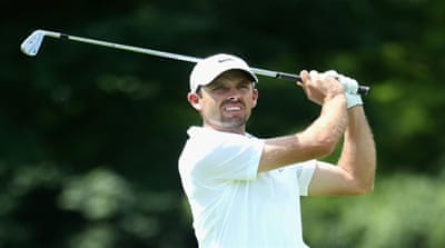 Charl Schwartzel shot a 3-under 69 in Johannesburg [Getty Images]