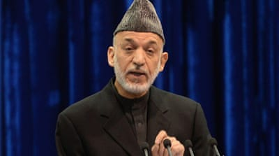 President Hamid Karzai said the Loya Jirga wants the return of  Afghan detainees in Guantanamo  [EPA]
