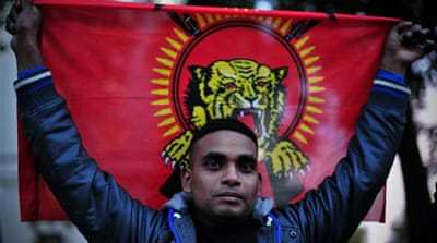 Tamil Tigers was defeated by the Sri Lankan Military in 2009 bringing a 26 years of conflict to an end. [AFP]