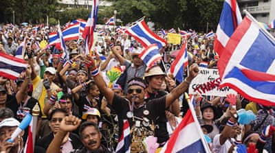 In pictures: Bangkok protests