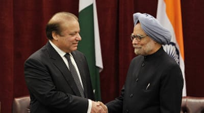 The two nuclear rivals have fought three wars with each other, two of them over Kashmir  [AP]