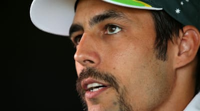 Mitchell Johnson took nine wickets in the series opener in Brisbane [GETTY]