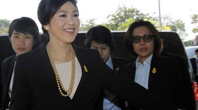 Yingluck Shinawatra: 'This is unlawful'