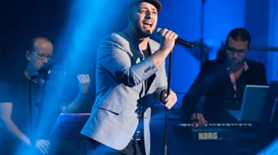 Maher Zain performing at The Troxy, London [Rooful Ali]