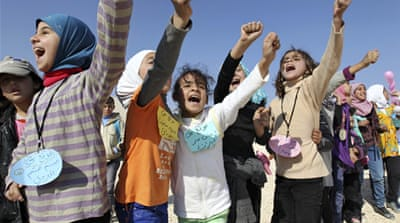 At least 3.2 million Syrians are expected to be registered as refugees by the end of 2013 [Reuters]