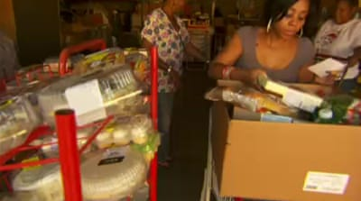 More Americans rely on food banks at holidays