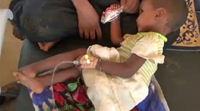 Malian refugees suffering from malnutrition