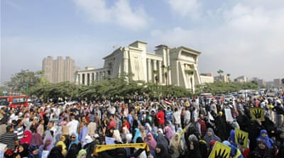 Egypt's deposed President Morsi on trial