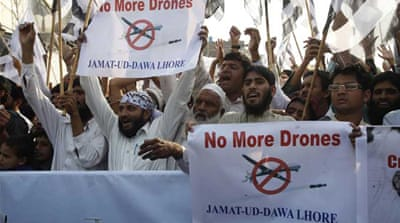 The US defends its use of drones and dismisses claims by rights groups that it has violated international law [EPA]