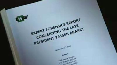 Swiss forensic report on Arafat's death