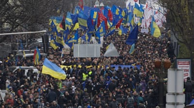 Ukraine protesters vow to continue the fight