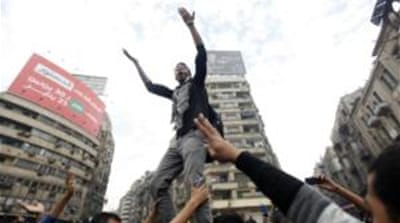 Tear gas fired in Egypt's Tahrir Square