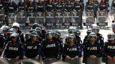 Thai protests escalate amid violence