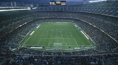 Nou Camp has been home to FC Barcelona since 1957 and is the largest ground in Europe [Getty Images]