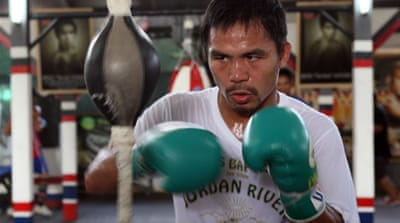 Manny Pacquiao has leapfrogged Luis Abregu and Amir Khan in the WBC rankings [Getty Images]