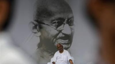 The latest fast by Anna Hazare is his third in as many years. [AP]