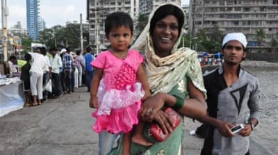 Indian eunuchs adopt to fulfill motherhood