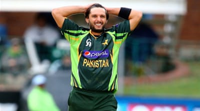 Afridi starred with bat and ball as Pakistan got off to a winning start in Dubai [Getty Images]