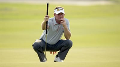 Germany's Alex Cejka was the surprise leader after the first round of the Thailand Golf Championship [Getty Images]