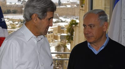 By demonising Iran, Netanyahu is trying to divert attention from settlement expansions [EPA]