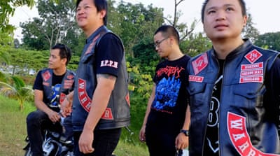In Pictures: Thailand's bad boy bikers