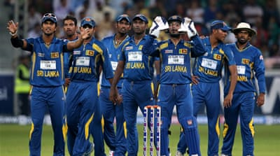 Sri Lanka's effort with the bat ensured they retained their top ranking in Twenty20 Internationals [Getty Images]