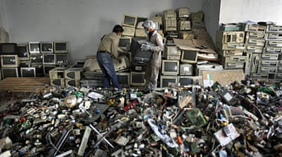 World's e-waste mountain proving a challenge