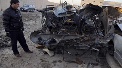 Violence grips Iraq in day of deadly bombings