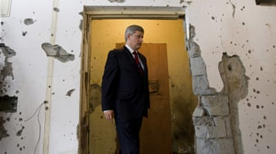 The Stephen Harper doctrine: With me or against me?