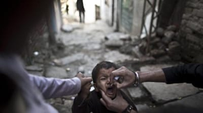 Those attacking polio workers claim they are spies or that the vaccination will make Muslim children sterile [AP]
