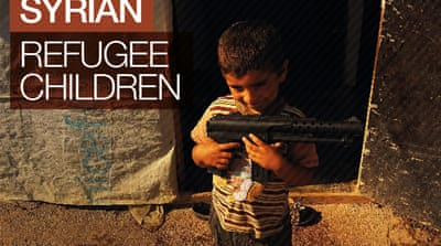 Interactive: Syria's refugee children