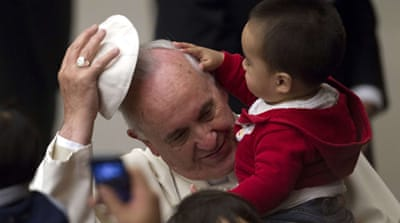 Pope's busy year as Catholic leader