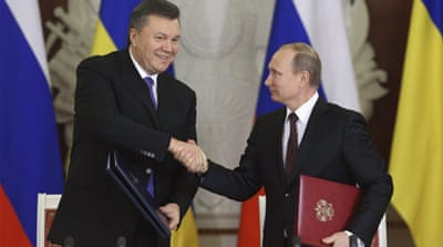 Russia and Ukraine strike $15bn deal
