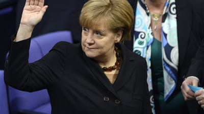 Merkel's personality is key to her success, writes Mark Bergfeld  [AFP]