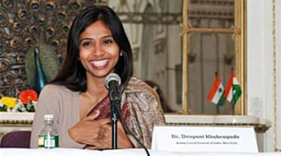 Devyani Khobragade was arrested and handcuffed in New York, angering New Delhi [Facebook]