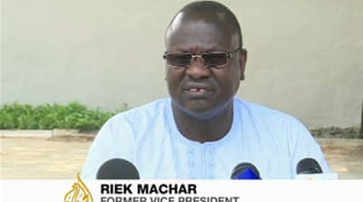 Riek Machar claimed his bodyguards were summarily executed in a raid on his home [Al Jazeera]