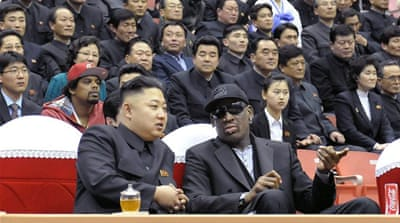 Rodman's visit follows the public purge of Kim's powerful uncle Jang Song Thaek, who was executed last week [EPA]