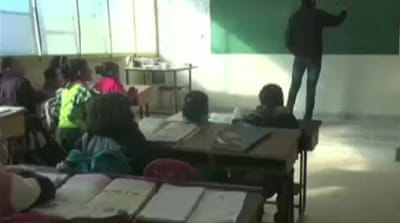Pushing for education in war-torn Syria