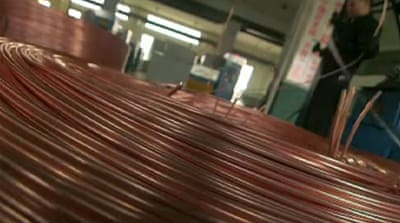 Chile feeds China's appetite for copper