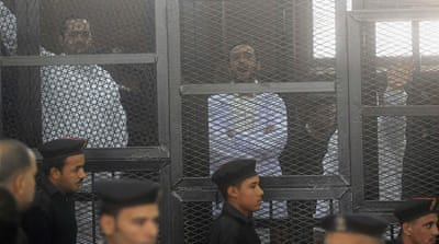 Egypt court jails activists over protests