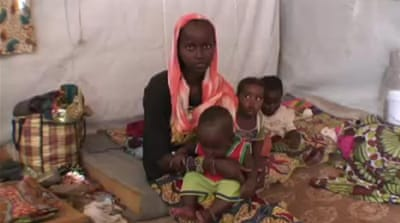 CAR refugees flee to neighbouring Chad