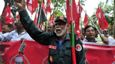 Bangladesh is deeply divided politically and socially over the tribunals [Reuters]