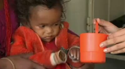 Nepal tops world's child malnutrition rates