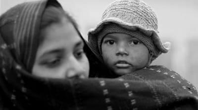 Indian children freeze to death in camps