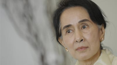 Aung San Suu Kyi: 'There is no rule of law'