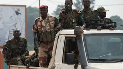 France deployed a 1,600-strong peacekeeping mission to CAR in early December [AP]